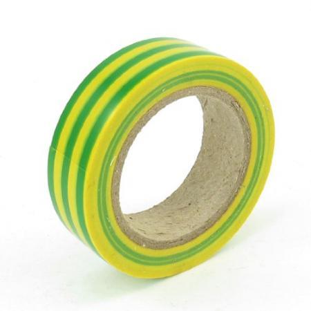 купить Изолента 15мм х 25м желто-зеленая REXANT по цене 395 рублей