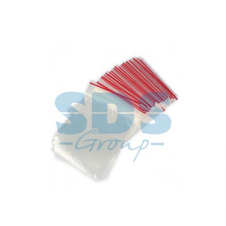 Пакеты с замком типа «Zip Lock» ПВД 10х15 см, 35мкм, (100шт/уп)