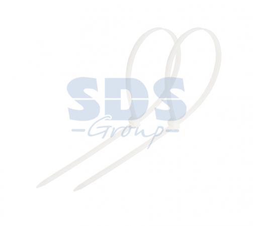 Хомут nylon 200 x 4,8 мм 100 шт белый REXANT