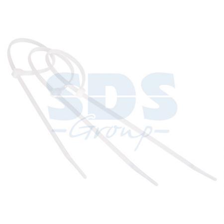 Хомут nylon 250 x 3,5 мм 100 шт белый профессиональный ydsl yds 200m 8 x 200mm self locking nylon cable tie wraps white 250 pcs