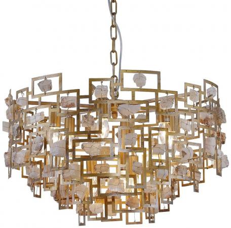 Подвесная люстра Crystal Lux Diego SP9 D600 Gold crystal lux подвесная люстра crystal lux diego sp9 d600 gold