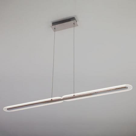 Подвесной светодиодный светильник Eurosvet Alamo 90073/2 хром