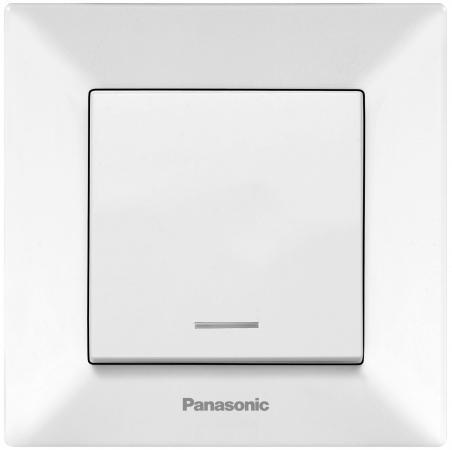 Выключатель Panasonic Arkedia 10 A белый WMTC0002-2WH-RES
