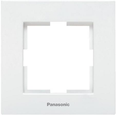 Рамка PANASONIC WKTF0801-2WH-RES Karre Plus 1м белая