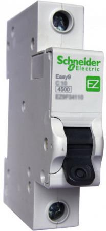 Выключатель автоматический Schneider Electric EASY9 ВА 1П 16А C 4.5кА 1DIN 1полюс 82х18мм автомат 1p 6а тип с 4 5ка schneider electric easy9