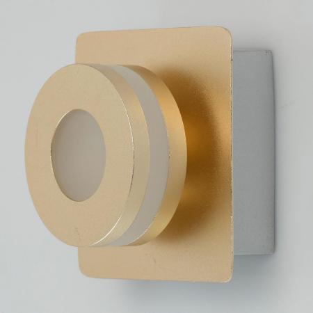 Настенный светодиодный светильник De Markt Пунктум 3 549020301 настенный светодиодный светильник de markt риббон 2 718020101