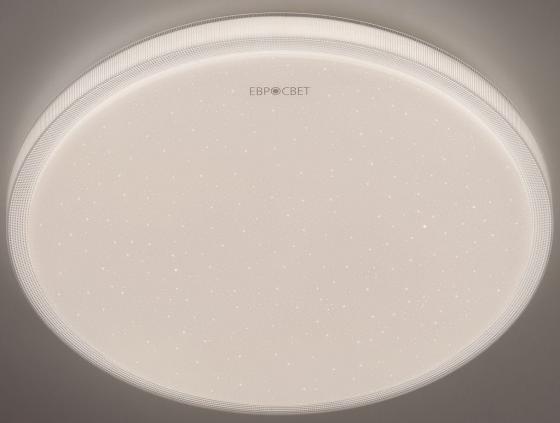 Потолочный светодиодный светильник с пультом ДУ Eurosvet Sandy 40014/1 LED белый