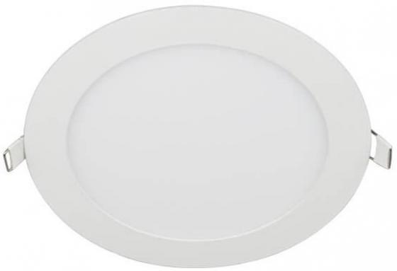 Встраиваемый светодиодный светильник (UL-00003382) Volpe ULP-Q203 R225-18W/DW White встраиваемый светодиодный светильник ul 00003089 uniel ulp 3030 18w nw effective white