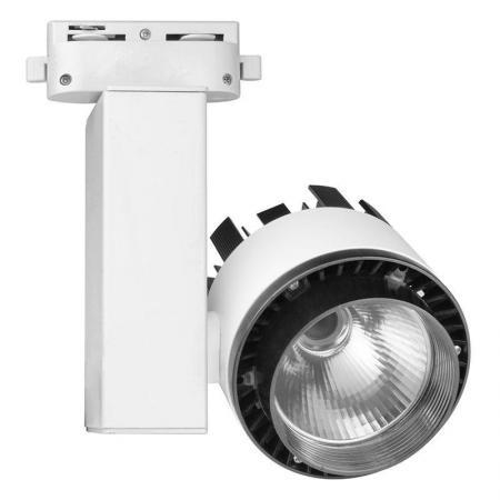 Трековый светодиодный светильник (10961) Volpe 4500K ULB-Q250 20W/NW/A White 18 k gold natural ruby jewelry set