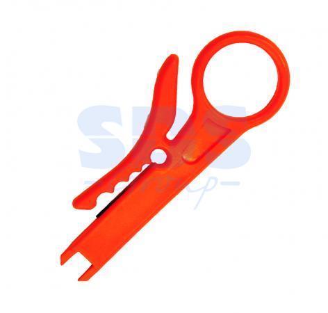 Инструмент для заделки и обрезки витой пары MINI (ht-318M) REXANT инструмент для заделки и обрезки витой пары rexant 110 ht 3240 tl 324b