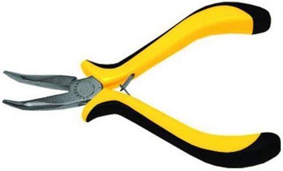 Утконосы FIT 51634 мини черно-желтая мягкая ручка никел.антикор.покрытие плоскогубцы fit 50626 стайл черно желтая ручка молибденовое покрытие 160мм