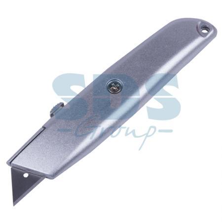Нож с трапециевидным выдвижным лезвием Rexant нож с выдвижным лезвием truper cut 6x 16977