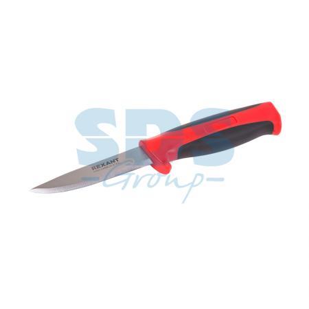 Нож строительный нержавеющая сталь лезвие 90 мм Rexant нож строительный нержавеющая сталь лезвие 95 мм rexant