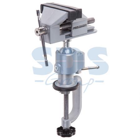 Тиски слесарные 360 поворотные 60мм Proconnect поворотные слесарные тиски wilton механик 746 wi21500