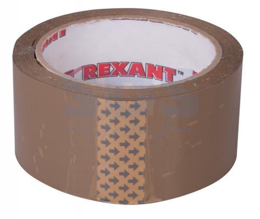 Скотч упаковочный 48мм x 66м., 50мкм, коричневый REXANT ключнасадка магнитная nox 13 48мм 556013