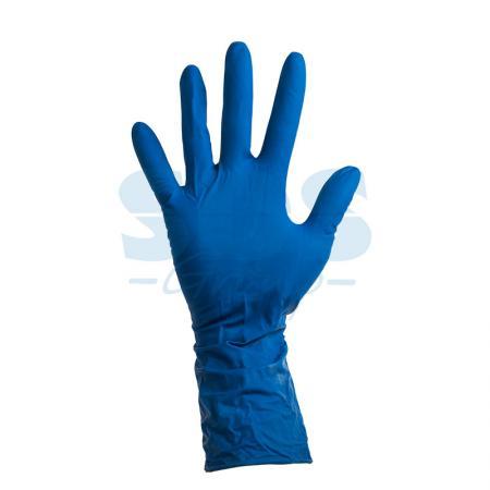 Перчатки латексные синие М (25пар) перчатки kellys across синие xs