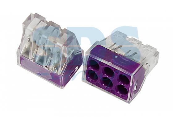 Электромонтажные экспресс-клеммы 773-326 (6*2.5мм?) REXANT