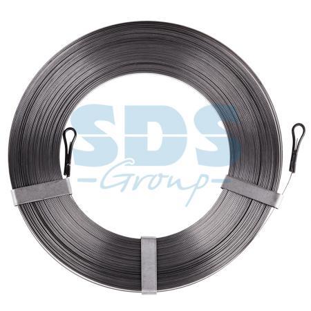 Протяжка кабельная стальная плоская 20 метров PROCONNECT