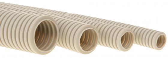 Труба гофрированная ПВХ 16 с зондом 10м цена