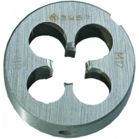цена на Плашка ЗУБР 4-28022-08-1.0 МАСТЕР круглая ручная мелкий шаг М8x1.0