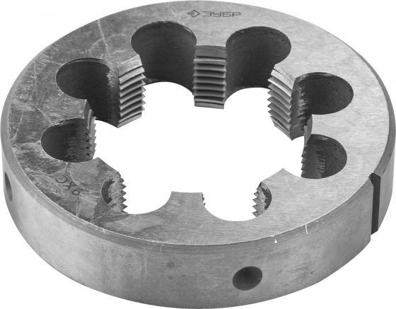 Плашка ЗУБР 4-28032-1 МАСТЕР круглая ручная для трубной резьбы G1