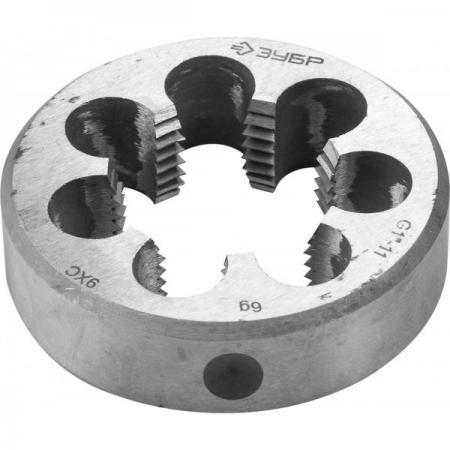 цена на Плашка ЗУБР 4-28032-1/2 МАСТЕР круглая ручная для трубной резьбы G1/2