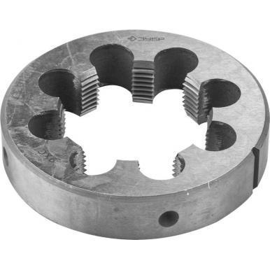 Плашка ЗУБР 4-28032-3/4 МАСТЕР круглая ручная для трубной резьбы G3/4 все цены