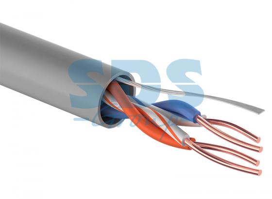 Фото - Кабель UTP 2PR 24AWG CAT5e 305м CCA PROCONNECT кабель utp 2pr 24awg cat5e 305м