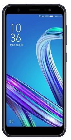 Смартфон ASUS Zenfone Max M1 ZB555KL черный 5.5 32 Гб LTE Wi-Fi GPS 3G 90AX00P1-M00650 смартфон asus zenfone 4 ze554kl черный 5 5 64 гб lte wi fi gps 3g 90az01k1 m01210