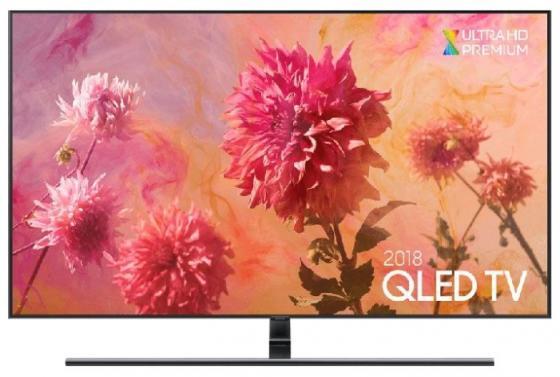 Телевизор LED 55 Samsung QE55Q9FNAUXRU черный 3840x2160 100 Гц Wi-Fi Smart TV RJ-45 Bluetooth WiDi Разьем для наушников телевизор led 43 tcl led43d2930us черный 3840x2160 60 гц wi fi smart tv vga rj 45 bluetooth