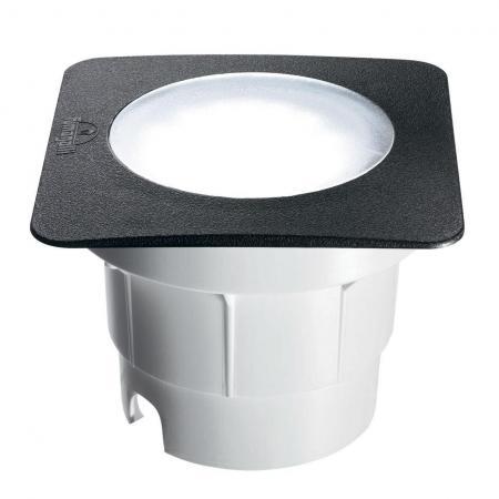 Ландшафтный светодиодный светильник Ideal Lux Ceci FI1 Square Big встраиваемый спот точечный светильник ideal lux swing fi1 alluminio 083162
