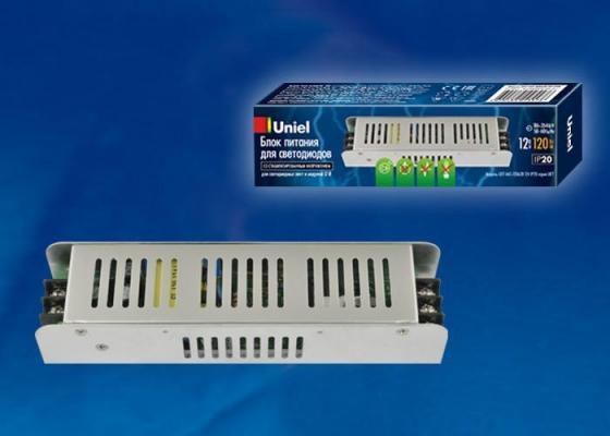 Фото - Блок питания (UL-00002430) Uniel UET-VAS-120A20 блок питания для светодиодов uniel 10590 150w 6 25ма ip67 uet vaj 150b67