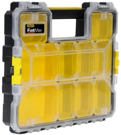 Органайзер STANLEY FatMax Shallow Pro Metal Latch 1-97-517 профессиональный 44.6x7.4x35.7см органайзер stanley fatmax deep pro plastic latch 1 97 521