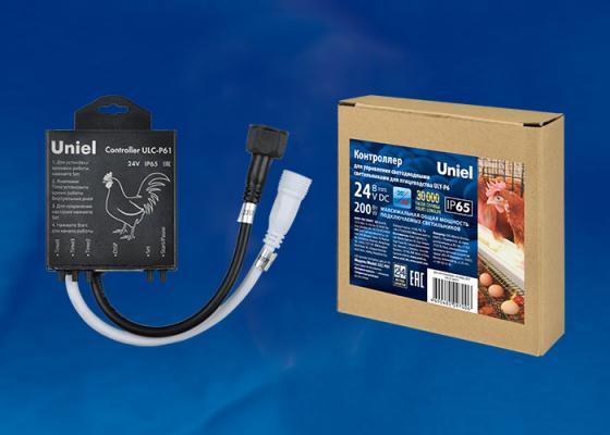 Контроллер для управления светодиодными светильниками для птицеводства Uniel ULC-P61