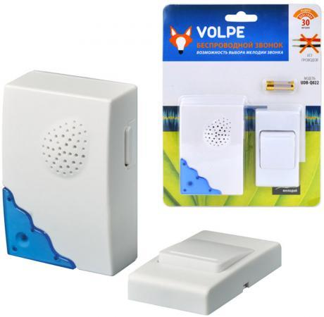 Звонок беспроводной (11015) Volpe UDB-Q022 W-R1T1-16S-30M-WH