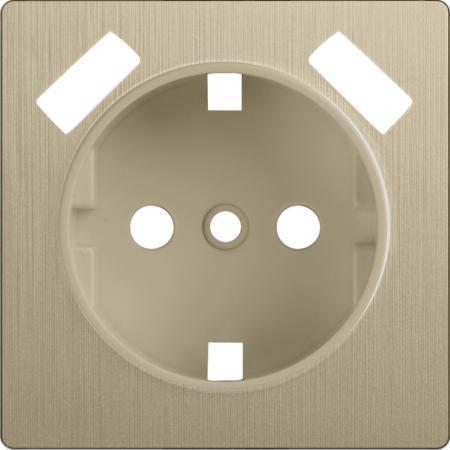 Лицевая панель розетки USB шампань рифленый WL10-USB-CP 4690389100369