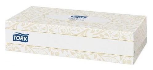 Салфетки Tork 120380 100 шт для лица tork салфетки для лица ультрамягкие 2сл 100л коробка 20 шт