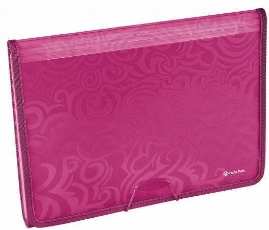 цена Папка TAI CHI с 6 отделениями, ф. А4, розовый материал PP, плотность 700 мкр.
