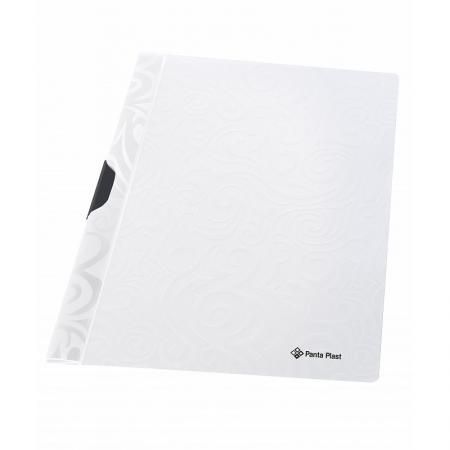 Папка TAI CHI с клипом, ф. А4, белый, материал PP, вместимость 30 листов папка скоросшиватель focus с большим клипом ф а4 зеленый матер pp вмес 30 листов