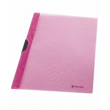 Папка TAI CHI с клипом, ф. А4, розовый, материал PP, вместимость 30 листов папка скоросшиватель focus с большим клипом ф а4 зеленый матер pp вмес 30 листов