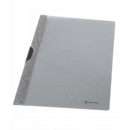 Папка TAI CHI с клипом, ф. А4, серый, материал PP, вместимость 30 листов папка скоросшиватель focus с большим клипом ф а4 зеленый матер pp вмес 30 листов