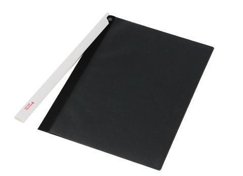 Папка-скоросшиватель FOCUS с большим клипом, ф.А4, черный, матер. PP, вмес. 30 листов папка скоросшиватель focus с большим клипом ф а4 зеленый матер pp вмес 30 листов