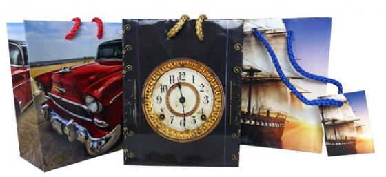 Пакет подарочный Winter Wings Пакет подарочный 11.1x13.7x6.2 cм