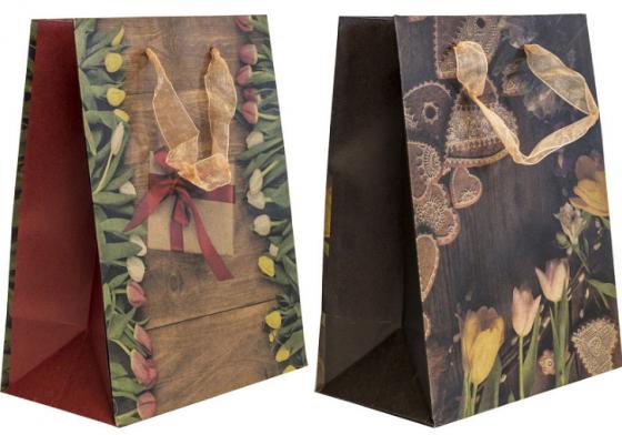 Пакет подарочный Winter Wings Пакет подарочный крафт 180х230х100 мм пакет подарочный городские зарисовки