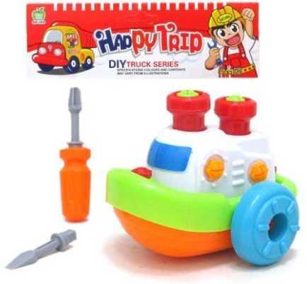 Конструктор-скрутка Наша Игрушка Кораблик 200230360 игрушка