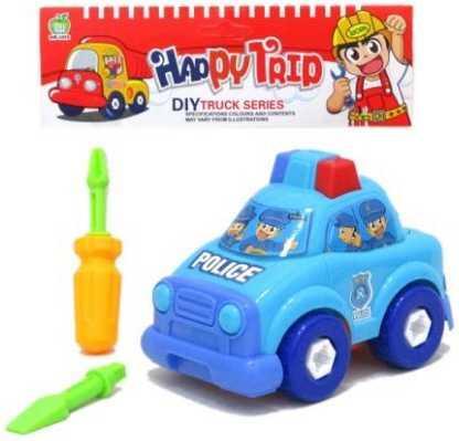 Конструктор-скрутка Наша Игрушка Полицейская машина 200230367 игрушка