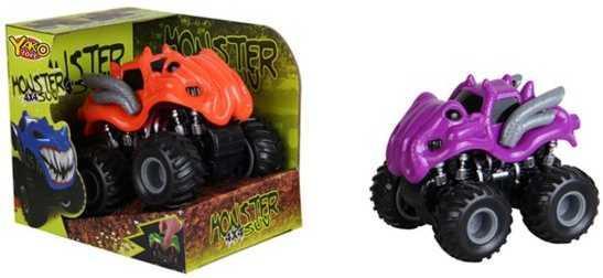 Внедорожник Наша Игрушка Монстры цвет в ассортименте 8403R-8 машина наша игрушка внедорожник бежевый 6138g