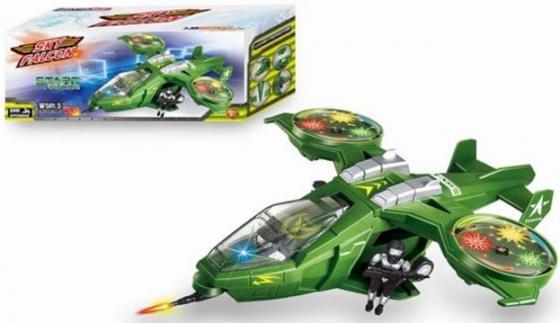 Самолет Schuco Sky Falcon зеленый Y513168 shu ke 1 18 t1 volkswagen bread schuco berlin fire truck engine car model