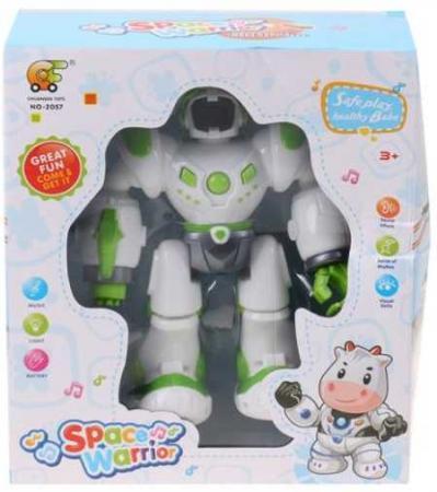 Робот электронный Наша Игрушка Спасатель со звуком 200120932 пупс наша игрушка 200133855 32 см со звуком