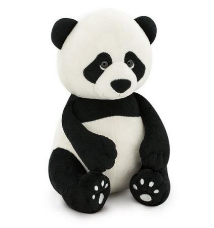 Мягкая игрушка панда ORANGE 25 см черный белый искусственный мех OS806/25